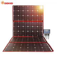 Dokio 300W 18V Flexible Foldable Solar Panel Hiqh Quality Portable China For Camping/Boat/RV/Travel/Home/Car