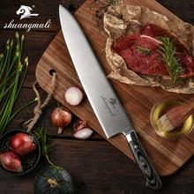 المهنية 12 بوصة سكين الطاهي ألمانيا 1.4116 الفولاذ المقاوم للصدأ Gyuto سكين سكاكين مطبخ عالي الجودة كوك أداة