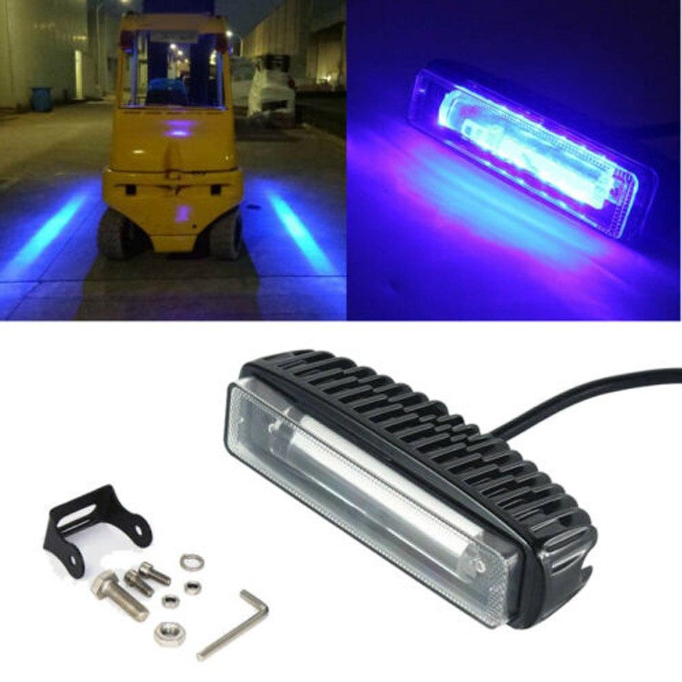 10-30V IP67 30W LED Forklift Truck Blue Line Warning Lamp Safety Working Light Marine light  Boat Lights Outdoor