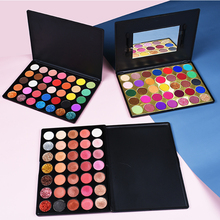 High Quality Private Label Cosmetics Makeup 35 Color Eye Shadow Pigment Shimmer Matte Eyeshadow Palette Makeup Palette цены