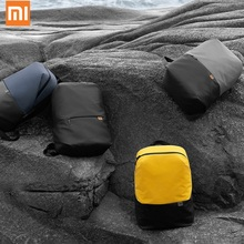 цена на Original Xiaomi Simple Casual Bag Large Capacity Mi Backpacks Lightweight Waterproof Laptop Backpack Multi-function Travel Bag