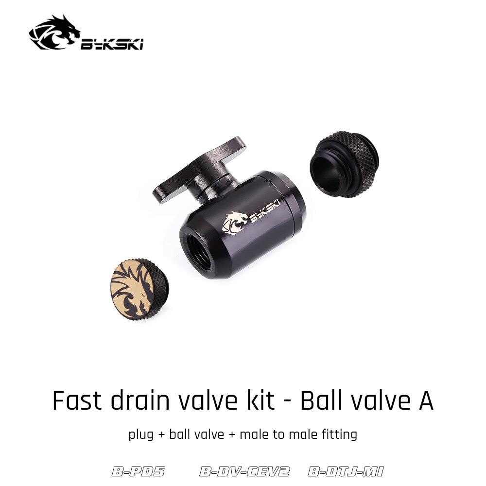 Valve Kit Drain Push Water Combination Ball G1/4