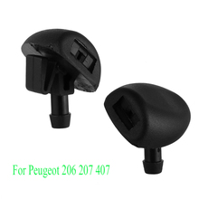 Nozzles Water-Jet Peugeot-206-207-407 Wiper Windshield-Washer Auto Car 2pcs for Cylinder-Head