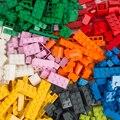 1000 штук строительные блоки город DIY творческие кирпичи оптом, модели, фигурки, Развивающие детские игрушки, совместимые со всеми брендами