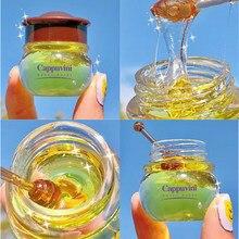 Cappuvini-Bálsamo labial hidratante, nutritivo, antiarrugas, antigrietas, Unisex, aceite labial, miel, para dormir