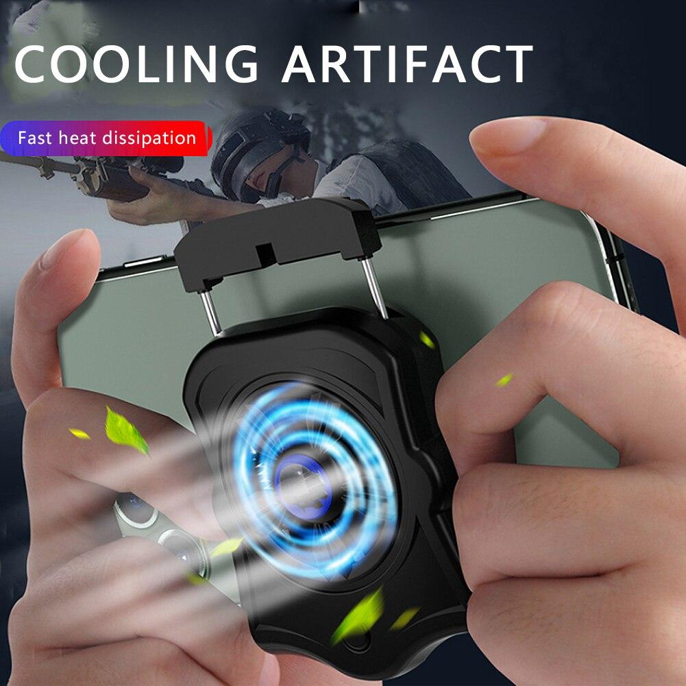 Мобильный телефон Подставка-радиатор Охлаждающая подставка геймпад кулер для PUBG мобильный Pendingin держатель вентилятора для телефона