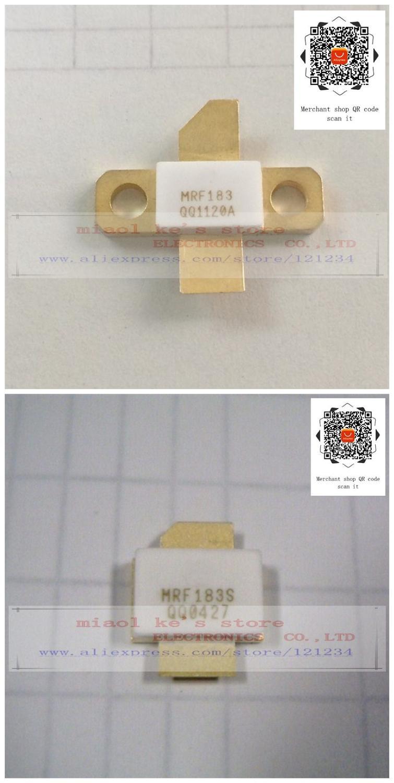 100% Original: MRF183 MRF183S MRF183R1 MRF183SR1 [ 65V 45W 1GHz] -Alta-qualidade transistor originais
