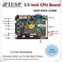 Промышленная Встроенная Плата ЦП 3,5 дюйма, ЦП J1900, 6 * RS232, 10 * USB, поддержка VGA, HDMI, LVDS, Промышленная материнская плата