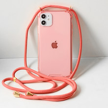 IPhone7 8 6 6S PlusXR XXS Max Lanyard Rantai Gantung Case untuk iPhone 11 11 ProMax Terbaik iPhone XR Iphone X Max Case(China)