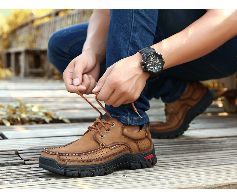 H4edf256dd4c94cf39b9af6ad81b2d8deJ ZUNYU New Genuine Leather Loafers Men Moccasin Sneakers Flat High Quality Causal Men Shoes Male Footwear Boat Shoes Size 38-48