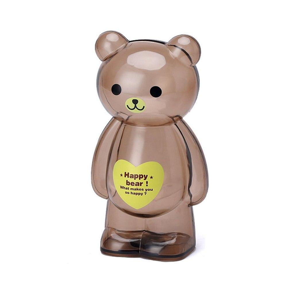 Money Box Transparent Piggy Bank Plastic Saving Coin Safe Cash Candy Home Decor Children kid Gift