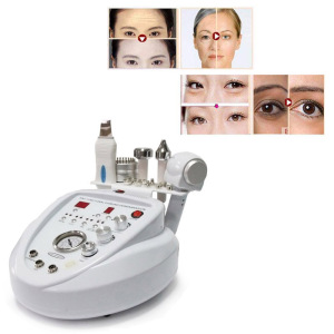 Image 5 - 5 in1 Diamond Peeling Dermabrasion Skin Scrubber Microcurrent Face Lift Machine Facial Care Salon Equipment for Personal