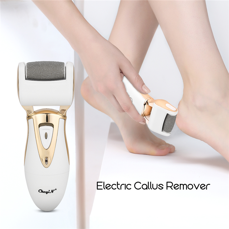 Electric Feet Callus Remover Rechargeable Foot File Waterproof Foot Dead Skin Exfoliating Grinding Roller Pedicure Device Unisex