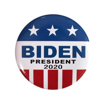 Joe Biden 2020 Pinback Button Full Size 2.28inch Political Tinplate Button Badge Primary Pinbacks for President Campaign image
