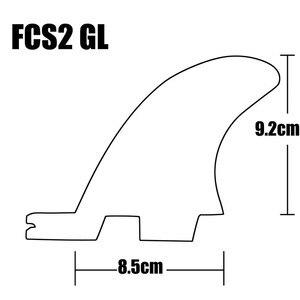 Image 5 - Surf FCS2 FINS G5 + GL ขนาดสีส้ม/Blue Honeycomb Surf FINS FCS II Tri Quad ชุดกระดานโต้คลื่น Fin FCS2 5 FINS ชุด