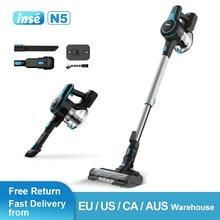 Cordless Vacuum Cleaner 12kpa Stick Vacuum Handheld Vaccum for Cleaning Home Car Pet Hair Carpet Hard Floor Furniture INSE N5