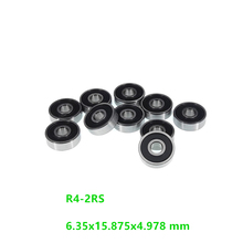 500pcs/lot R4-2RS R4RS R4 2RS RS 1/4