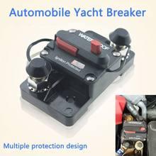 Dc 12v interruptor para carro barco marinho bicicleta estéreo de áudio auto à prova dwaterproof água reset fusível 30a 80a 100a 150a 200a 250a 300a