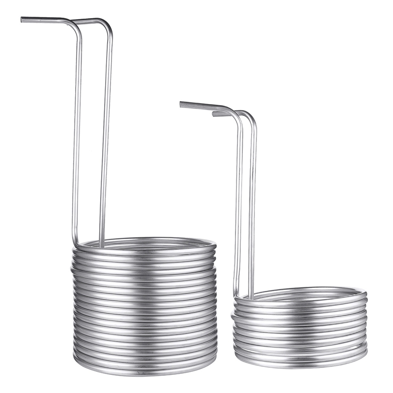 4 Size Stainless Steel Soaked Wort Chiller Stainless Steel Coil Household Wine Brewing Ultra-Efficient Wort Chiller Home Tools