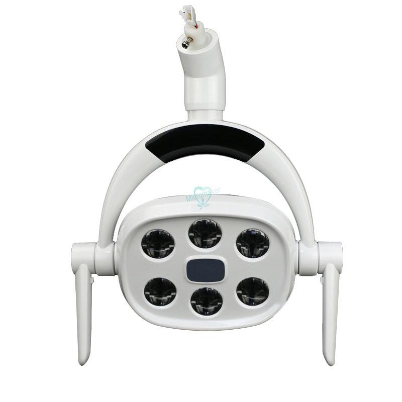 1 pcs nova dental led luz dental lampada oral para cadeira dental unidade pet cirurgia lampada