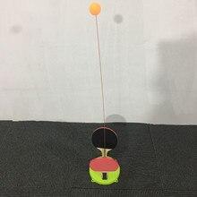 Пинг-Понг одиночный человек пинг-понг практическое устройство обучающее устройство сукториальное самоупражнение эластичность гибкий вал дети Pa