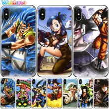 Phone Cases Dragon Ball DragonBall GOKU Cartoon cases Cover For iPhone XS Max XR X 8 7 6S Plus 5S case cover etui