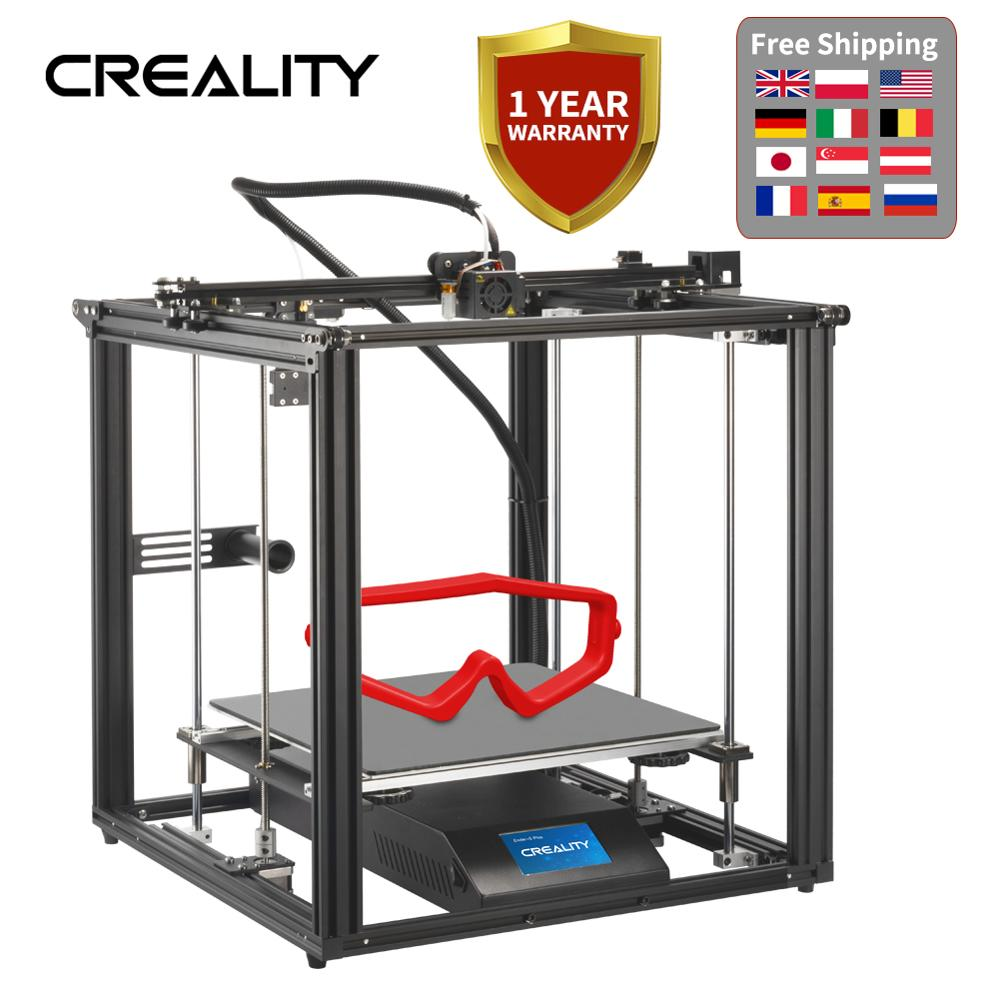 CREALITY 3D Ender-5 Plus 3D Drucker 350*350*400MM Lebenslauf Print Filament Sensor Mit BL touch