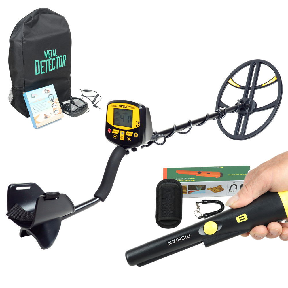 Professional Coil Detector TX-950 Gold Treasure Hunter Metal Detector Sale tx 850 Updated Model Big Disk Gold Finder Point Gifts