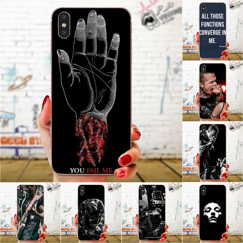 Converge Band Soft Phone Case Cover For Xiaomi Redmi Note 2 3 3s 4 4a 4x 5 5a 6 6a Pro Plus Half Wrapped Cases Aliexpress