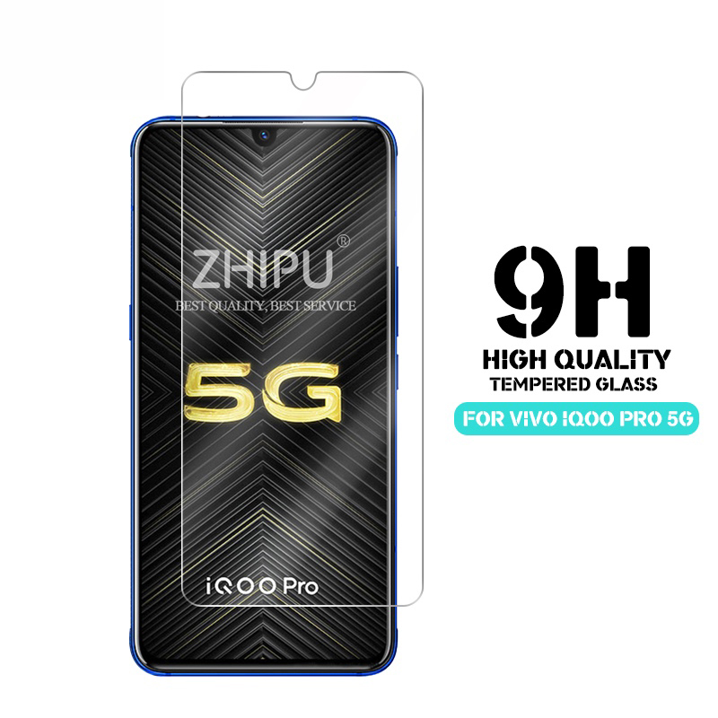 25 Pcs Tempered Glass For vivo iQOO Pro 5G Screen Protector 2.5D 9H Protective Film