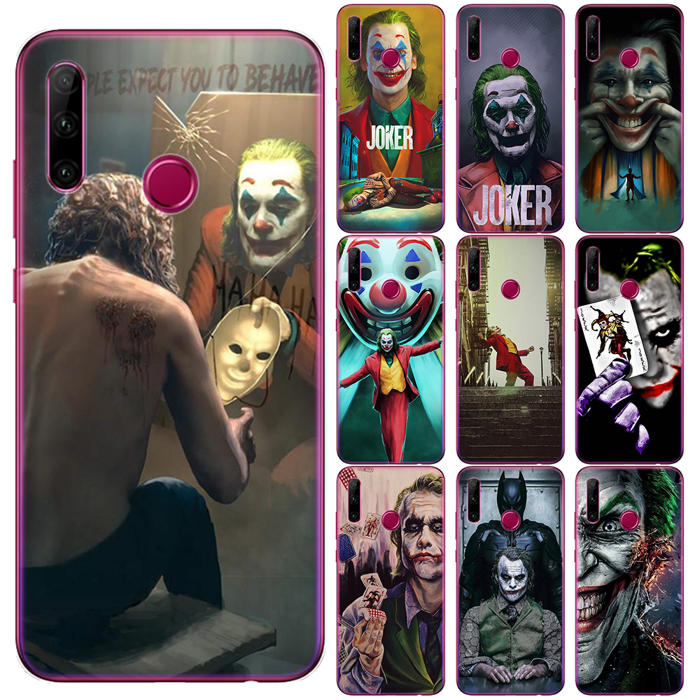 Batman Dark Knight Joker Karta Movie Silicone Case For Huawei Mate 20 30 Honor 10 20 Lite Pro 10i 9X 8X Soft TPU Phone Cover image