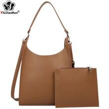 Fashion Ladies Hand Bags Sets High Quality Leather Shoulder Bag Luxury Handbags Women Crossbody Designer Large Tote 2020