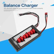 Parallel Charging Board Balance 6 in1 battery Charger Adapter for LiPo LiFe Li-Ion Batteries