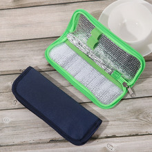 1 pc Portable Diabetic Insulin Cooler Bag Protector Pill Refrigerated Ice Box Medical Ice Pack  Insulation Organizer Travel Case