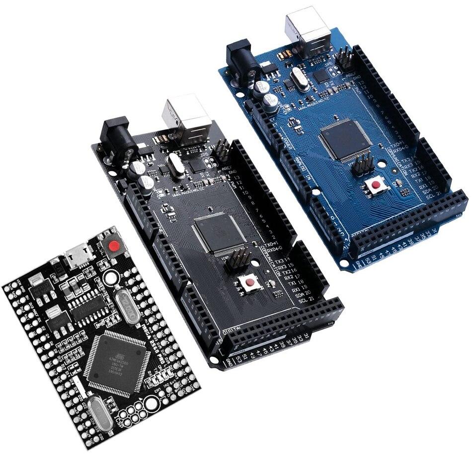 MEGA2560 Мега 2560 R3 ATmega2560-16AU CH340G AVR USB макетная плата MEGA2560 для arduino