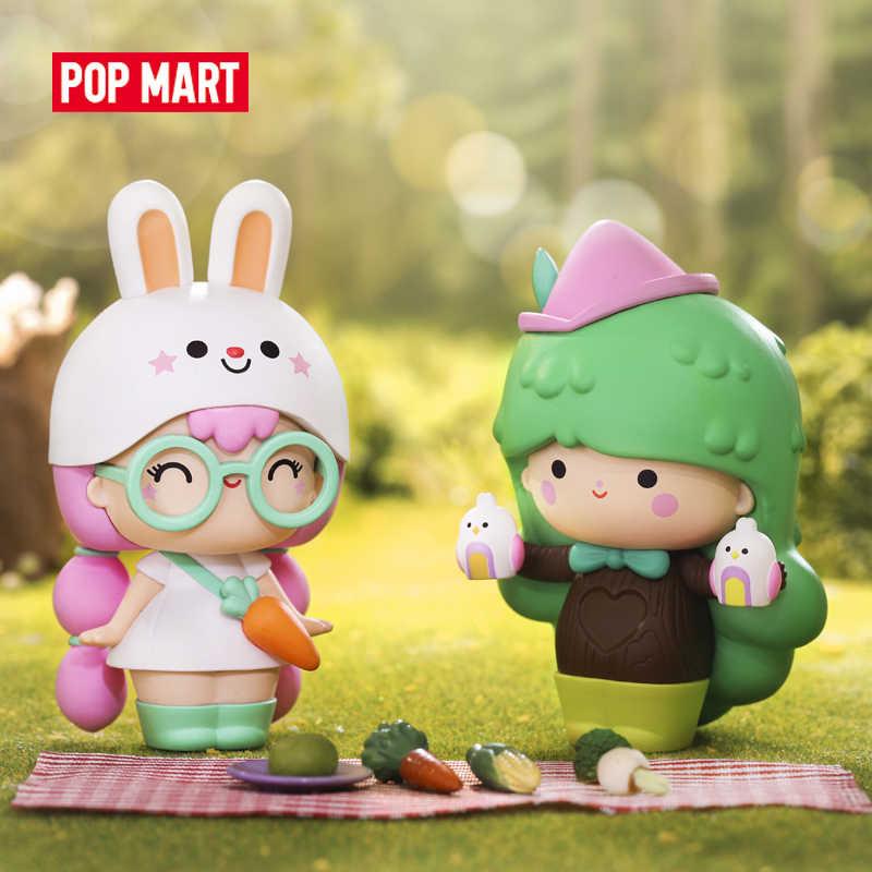 البوب مارت موميجي استكشاف تحصيل لطيف عمل Kawaii هدية طفل اللعب البلاستيكية الشكل شحن مجاني