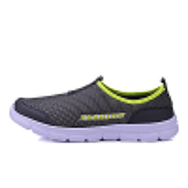 Breathable Mesh Casual Men Shoes Summer Sneakers Men Footwear Running Shoes Men's Lightweight Slip-on Sandals Zapatos De Hombre 2