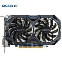 GIGABYTE Original Graphics Card GTX 750 Ti 2GB GDDR5 128 Bit with NVIDIA GeForce Used Cards for PC GTX 750Ti GPU Video Card