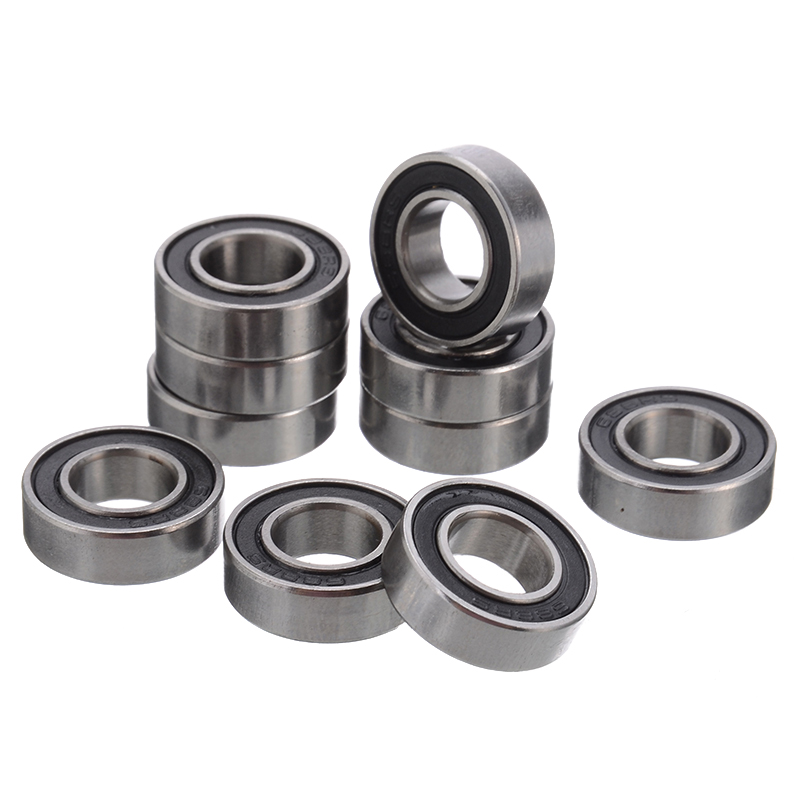 10Pcs/Set <font><b>688</b></font>-<font><b>2RS</b></font> Mini <font><b>Bearing</b></font> <font><b>688</b></font> RS Rubber Sealed Ball <font><b>Bearing</b></font> Durable Miniature <font><b>Bearings</b></font> 8x16x5mm image