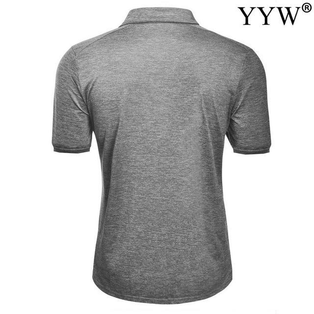 2020 New Summer Golf apparel Men's Golf T-Shirt T Comfortable Breathable Golf Short Sleeve T-Shirt 6
