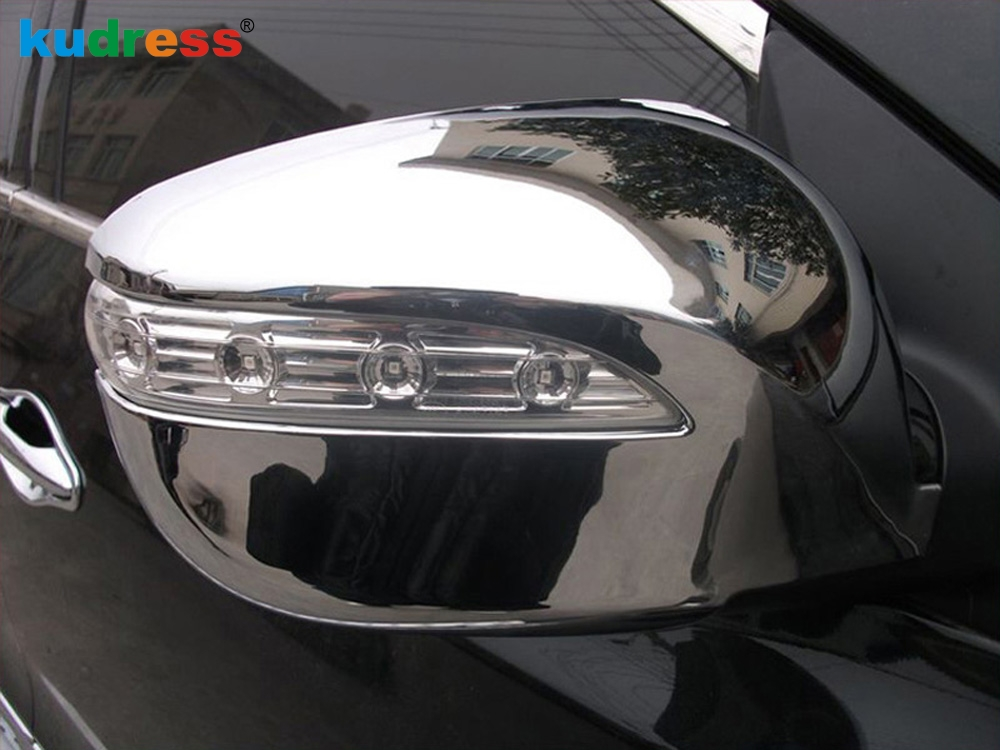 New Chrome Rearview Mirror Cover Trim for Hyundai ix35 Tucson 2010-2014