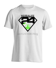 Fashion Man New Herbalife 24 Nutrition Logo Men's T-Shirt Size S-3XL(China)