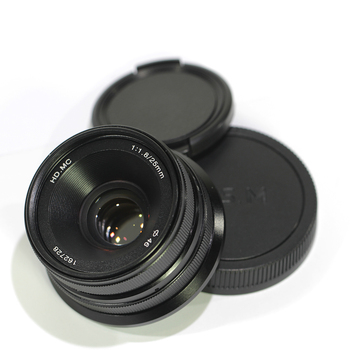 Pixco 25mm F1.8 HD.MC Manual Focus Lens Suit For EOS M Mount Camera Like M2 M3 M10 Black