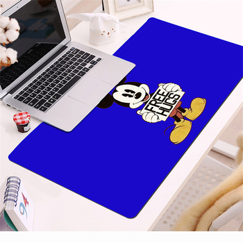 цена на 70x30cm Large Mouse Pad Mickey Gaming Mousepad Anti-slip Natural Rubber with Locking Edge Gaming Mouse Mat Desk mat