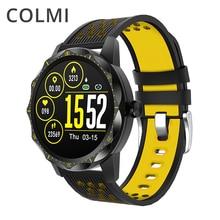 COLMI akıllı saat SKY1 PRO IP68 Bluetooth nabız monitörü saat erkekler kadınlar iphone için akıllı saat Android telefon