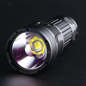 قافلة المحمولة M3 XHP70.2 4300LM عالية التجويف مصباح يدوي مدمج في درجة الحرارة حماية قوية مصباح يدوي مصباح صغير LED الشعلة