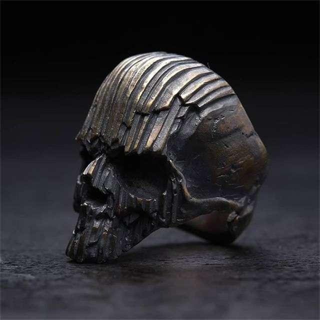 STAINLESS STEEL SKULL HEAD RINGS