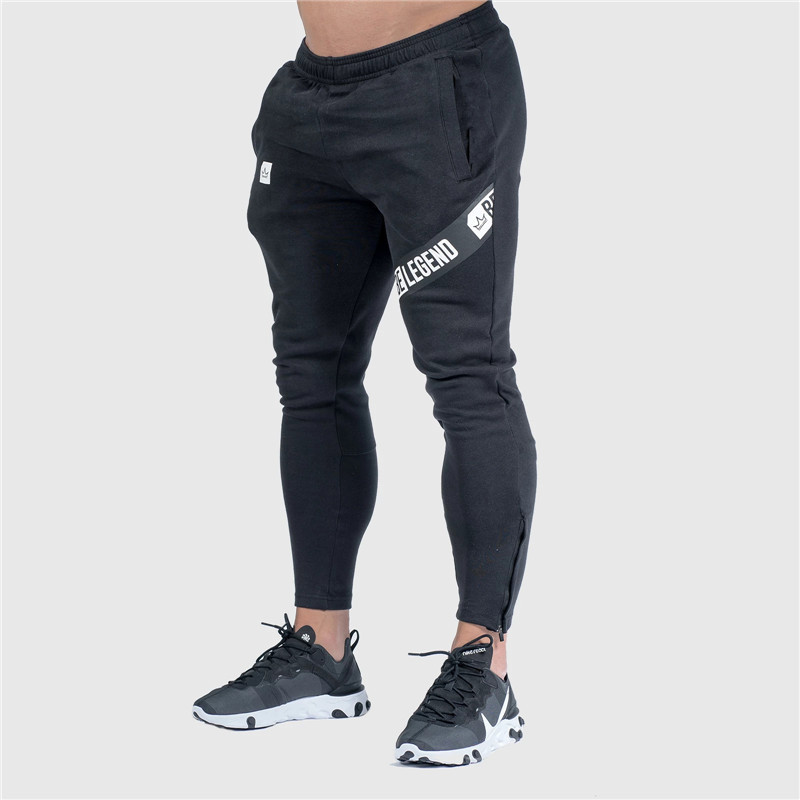 Autumn Winter Style Men Trousers Casual Sweatpants Male Gyms Fitness Workout Letter Print Sportswear Jogger Brand Pencil Pants