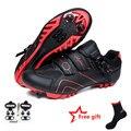 MTB road велосипедная обувь дышащая самофиксирующаяся велосипедная обувь для мужчин и женщин Ультралегкие спортивные гоночные кроссовки Zapatos ...