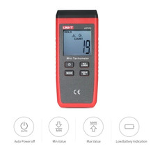 UNI-T UT373 Mini Tachometer Singal Trigger / Laser-on Indication RPM Speed Measurement Meter Digital Laser Tachometer dt 2856 laser digital tachometer